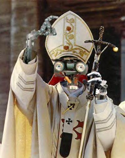 Robot-pope