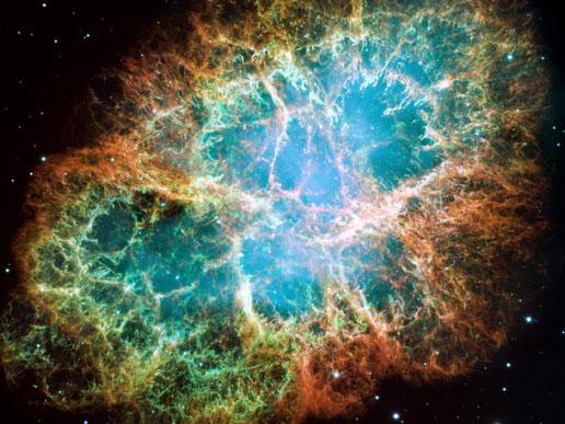 Hubble-space-telescope-crab-nebula