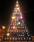 Pacman-christmas-tree