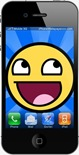 Smiley iphone