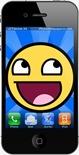 Smiley iphone