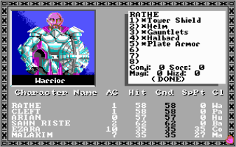 Bards Tale 1985