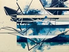 Daniel DeLuna.Geomteric-Maze-Blue