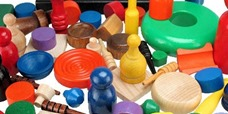Wooden Game Parts