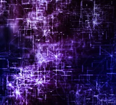 Purple Cybernetic Flight