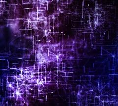 Purple Cybernetic Flight