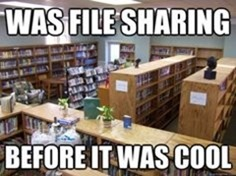 File Sharing Before It Was Cool