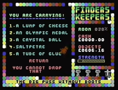 Finders Keepers 1985