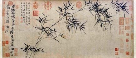 Ni Zan.Bamboo Branches (1306-1374)