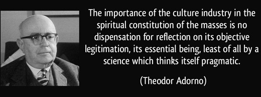 Adorno Quote