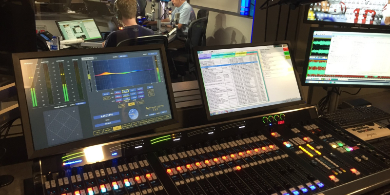 Radio DJ Booth