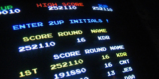 Arcade high score