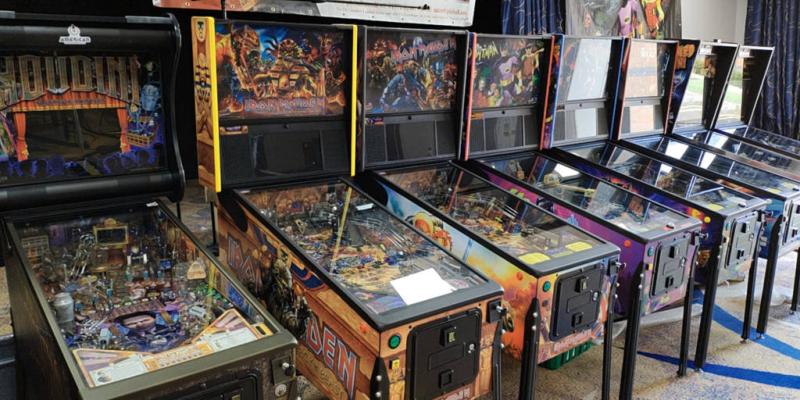 Pinball tables