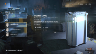 Star Wars Battlefront Loot Crate