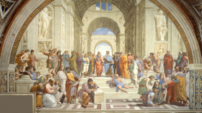 Raphael.The School of Athens