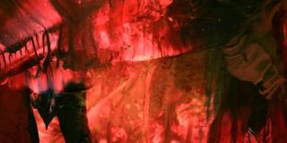 1 - Encaustic Red