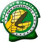 GameSurf - Award of Excellence